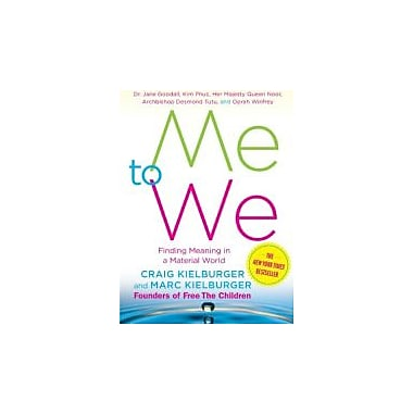 Me to We: Finding Meaning in a Material World, New Book (9780743294515)