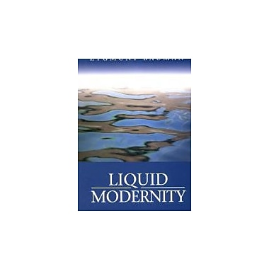 Liquid Modernity, New Book (9780745624105)