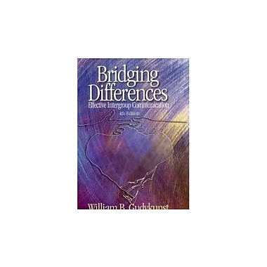 Bridging Differences: Effective Intergroup Communication (Interpersonal Commtexts S), Used Book (9780761929376)