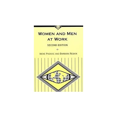 Women and Men at Work (Sociology for a New Century), New Book (9780761987109)