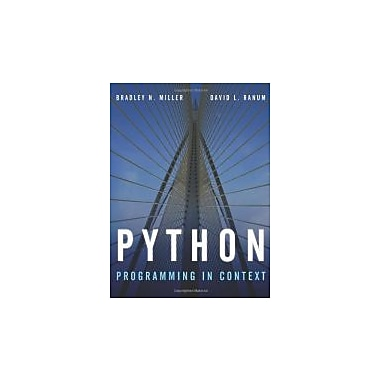 Python Programming In Context, New Book (9780763746025)