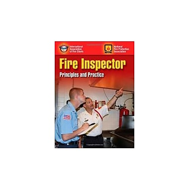 Fire Inspector: Principles And Practice, New Book (9780763749392)
