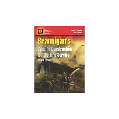 Brannigan's Building Construction For The Fire Service, New Book (9780763778026)