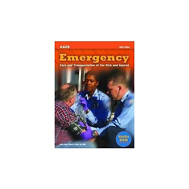 Emergency Care and Transportation of the Sick and Injured [With DVD] (AAOS), Used Book (9780763781705)