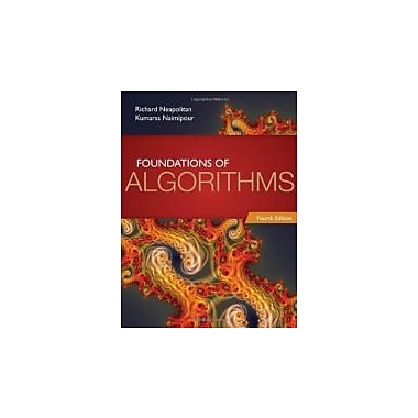 Foundations Of Algorithms, New Book (9780763782504)