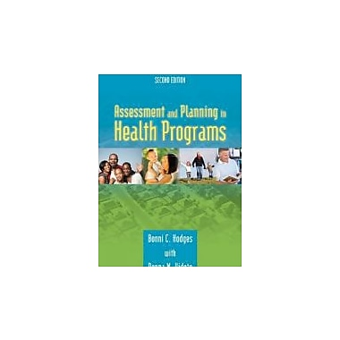 Assessment And Planning In Health Programs
