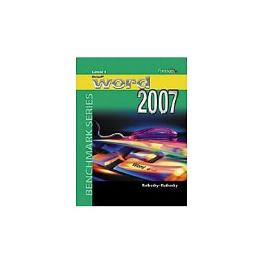 Microsoft Word 2007, Level 1 - With CD, New Book (9780763830007)