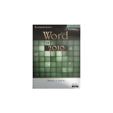 Benchmark Microsoft Word 2010 Levels 1 and 2 (Benchmark Series), Used Book, (763842990)