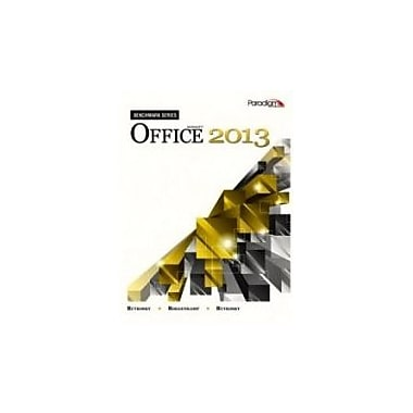 Microsoft Office 2013 (Benchmark), Used Book (9780763853853)