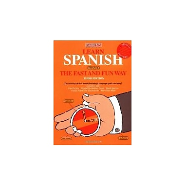 Learn Spanish the Fast and Fun Way, Used Book (9780764125508)