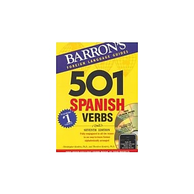 501 Spanish Verbs with CD-ROM and Audio CD (501 Verb Series), New Book (9780764197970)