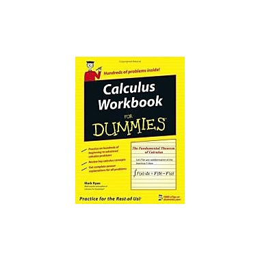 Calculus Workbook For Dummies, New Book (9780764587825)