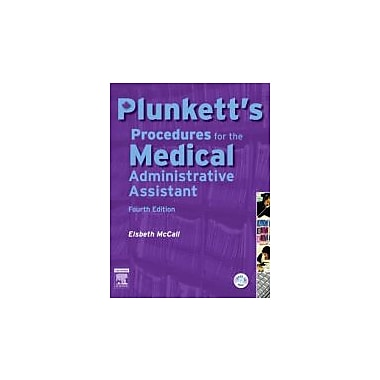 Plunkett's Procedures for the Medical Administrative Assistant, 4e, New Book (9780779699117)