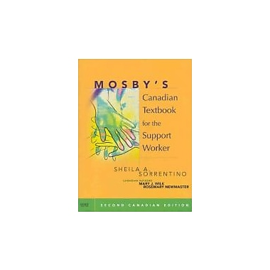 Mosby's Canadian Textbook for the Support Worker, New Book (9780779699896)