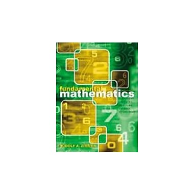 Fundamental Mathematics: A Student Oriented Teaching or Self-Study Text, Used Book (9780787293000)