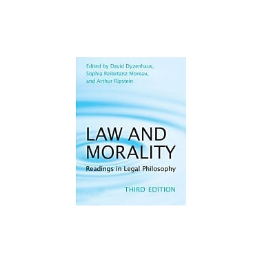 Law and Morality: Readings in Legal Philosophy (Toronto Studies in Philosophy), New Book (9780802094896)