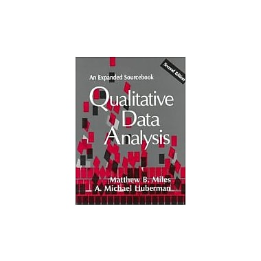 Qualitative Data Analysis: An Expanded Sourcebook(2nd Edition), New Book (9780803955400)