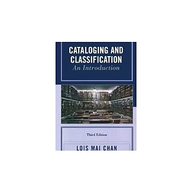 Cataloging and Classification: An Introduction, New Book (9780810860001)