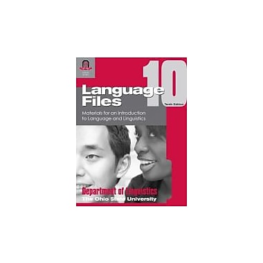 Language Files: Materials for an Introduction to Language and Linguistics, New Book (9780814251638)