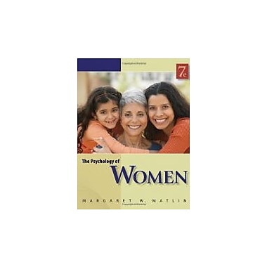 The Psychology of Women, New Book (9780840032898)