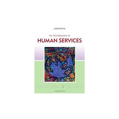 An Introduction to Human Services, New Book (9780840033710)