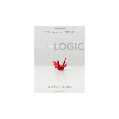 A Concise Introduction to Logic (with Stand Alone Rules and Argument Forms Card), New Book (9780840034175)