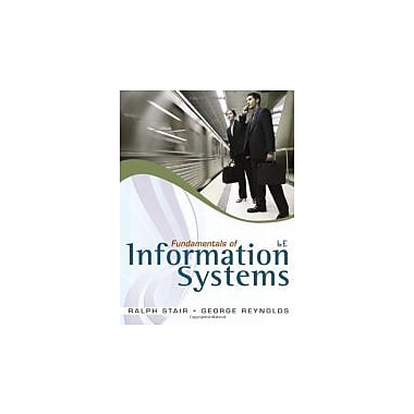 Fundamentals of Information Systems (with SOC Printed Access Card), New Book (9780840062185)