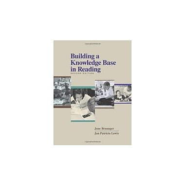 Building a Knowledge Base in Reading, New Book (9780872075757)