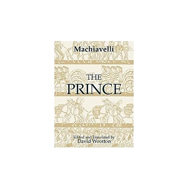The Prince, New Book (9780872203167)