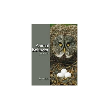 Animal Behavior: An Evolutionary Approach, Ninth Edition, New Book (9780878932252)