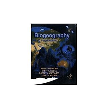 Biogeography, Fourth Edition, New Book (9780878934942)