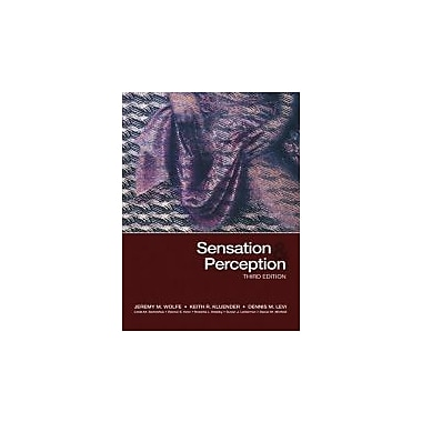 Sensation & Perception, Third Edition, New Book (9780878935727)