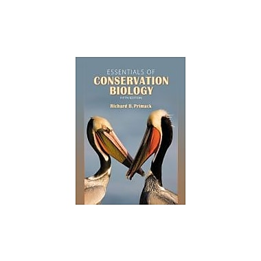 Essentials of Conservation Biology, Fifth Edition, Used Book (9780878936403)