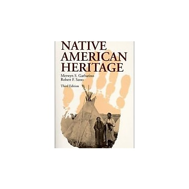 Native American Heritage, New Book (9780881337730)