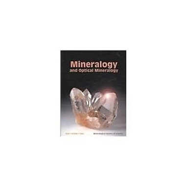 Mineralogy And Optical Mineralogy, Used Book (9780939950812)