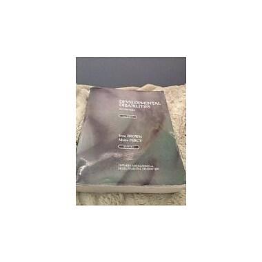 Developmental Disabilities in Ontario, New Book (9780973157307)