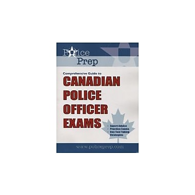 PolicePrep Comprehensive Guide to Canadian Police Officer Exams, Used Book (9780973515107)