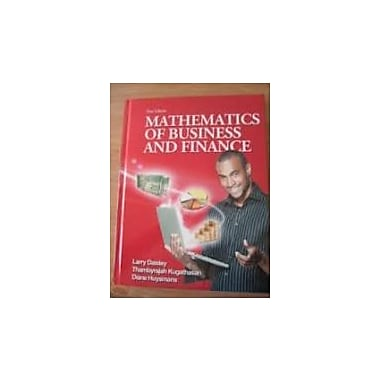 Mathematics of Business and Finance, Used Book, (986660604)
