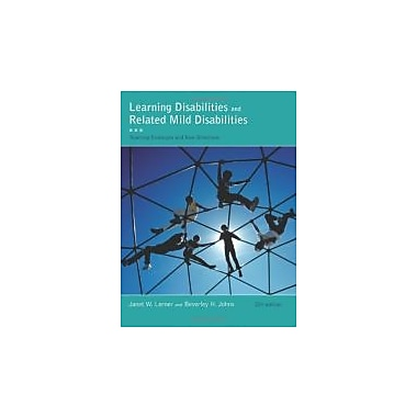 Learning Disabilities and Related Mild Disabilities (What's New in Education), New Book (9781111302726)