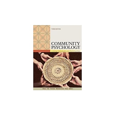 Community Psychology: Linking Individuals and Communities, New Book (9781111352578)