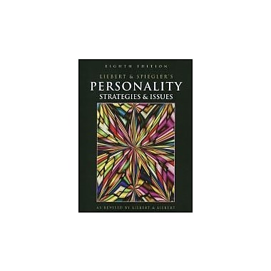 Personality: Strategies and Issues, Reprint, New Book (9781111726119)
