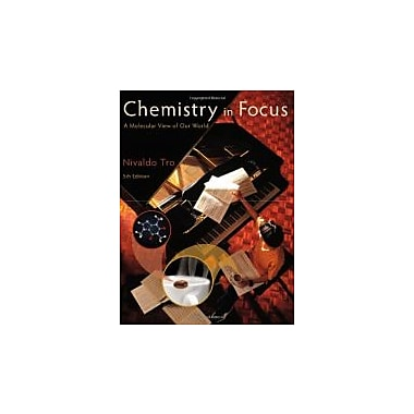 Chemistry in Focus: A Molecular View of Our World (Textbooks Available with Cengage Youbook), Used Book (9781111989064)