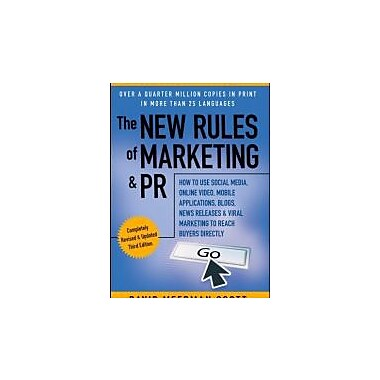 The New Rules of Marketing & PR, Used (9781118026984)