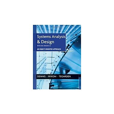 Systems Analysis and Design with UML, New Book (9781118037423)