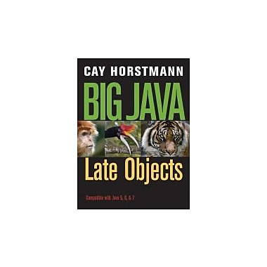 Big Java Late Objects, New Book (9781118087886)