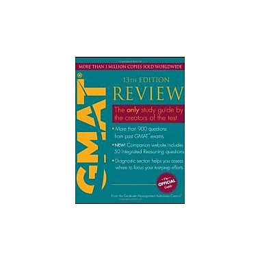 The Official Guide for GMAT Review, New Book (9781118109793)