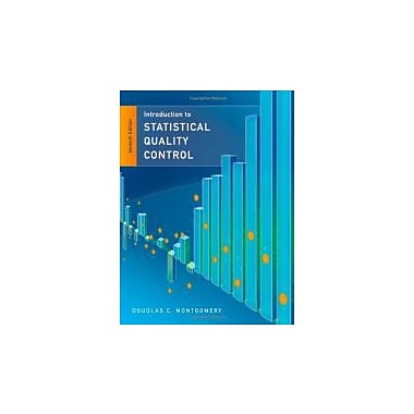Statistical Quality Control, Used Book (9781118146811)