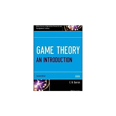 Game Theory: An Introduction, Set, New Book (9781118612033)
