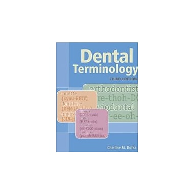 Dental Terminology, New Book (9781133019718)