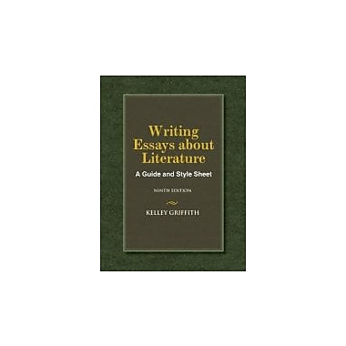 Writing Essays About Literature, Used Book (9781133307297)